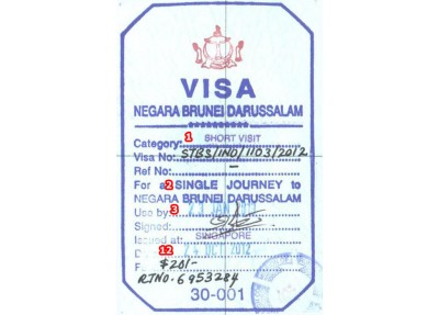 COMPLETE BRUNEI VISA APPLICATION REQUIREMENT'S & GUIDE